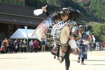 梶原の太鼓踊り1