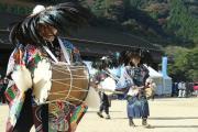 梶原の太鼓踊り2