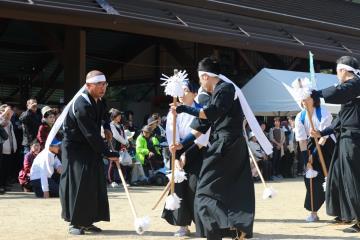 高野の棒踊り1