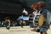田口の太鼓踊り1