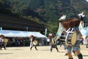 田口の太鼓踊り2